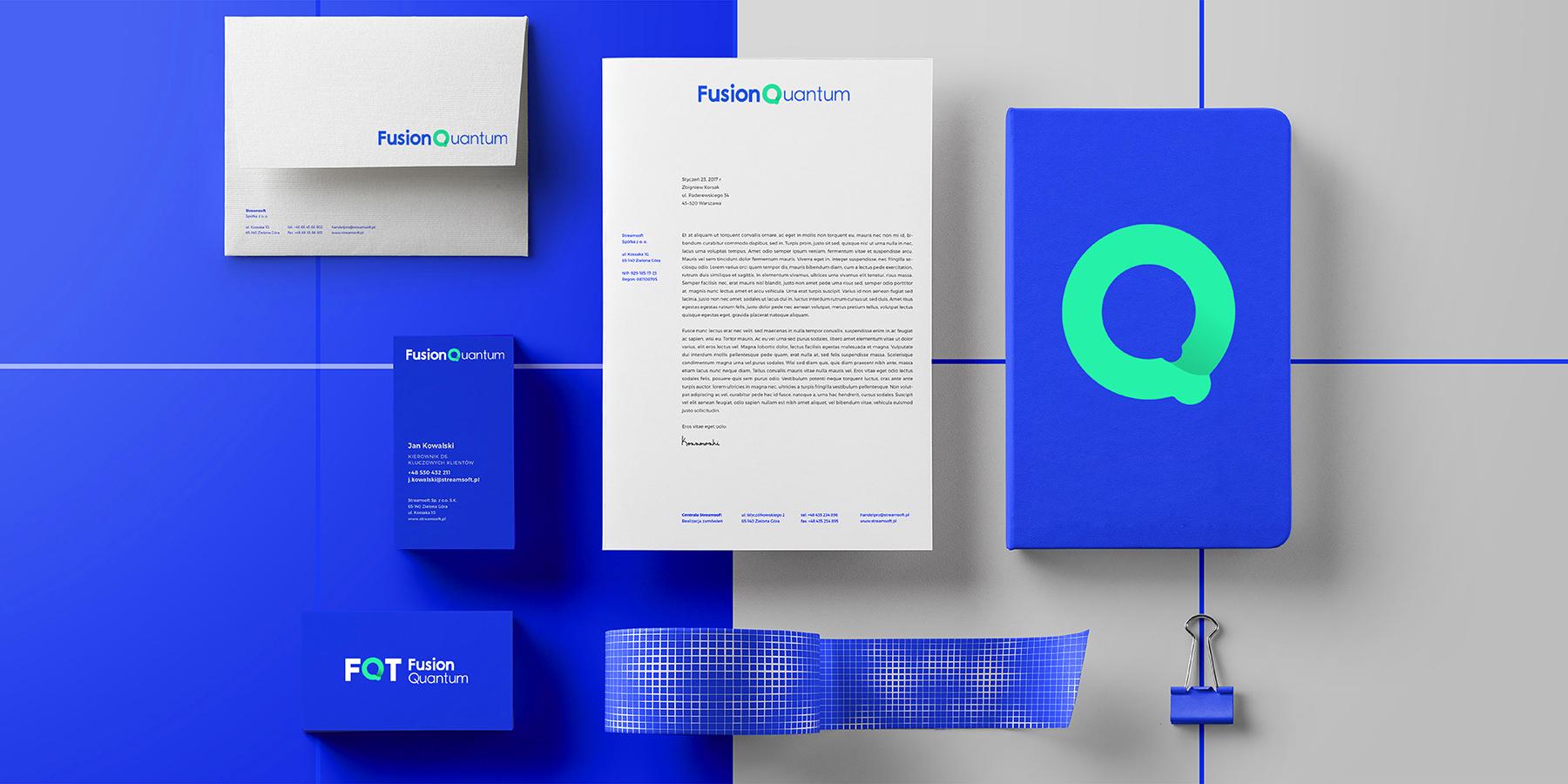 量子贴-logo设计-VI设计-品牌设计